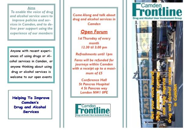 Frontline flier image