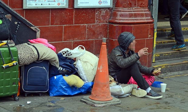 NHS Homeless funding cuts